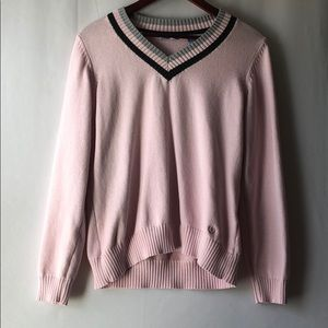 Izod Pink V-Neck Sweater